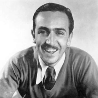 walt disney biography