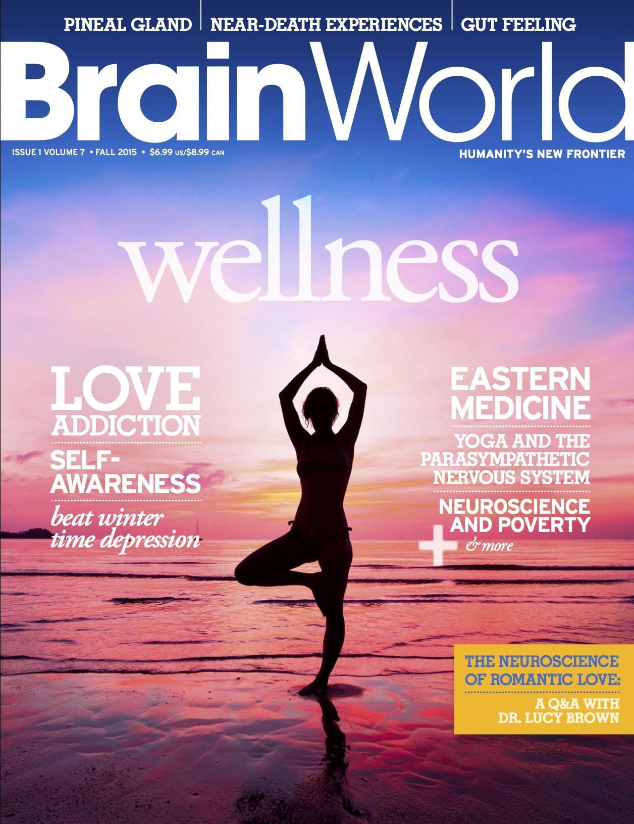 Brain World Magazine Fall 2015 Cover