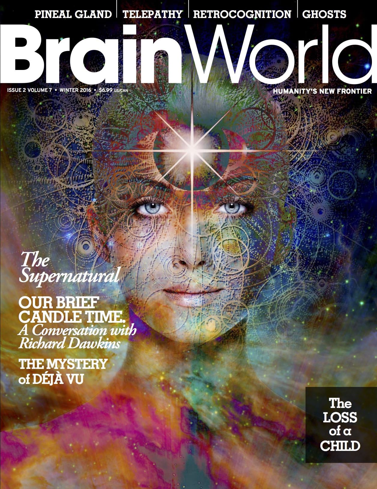 Brain World Magazine Winter 2015-2016 Cover