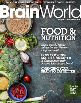 Brain World Magazine Spring 2016 Cover