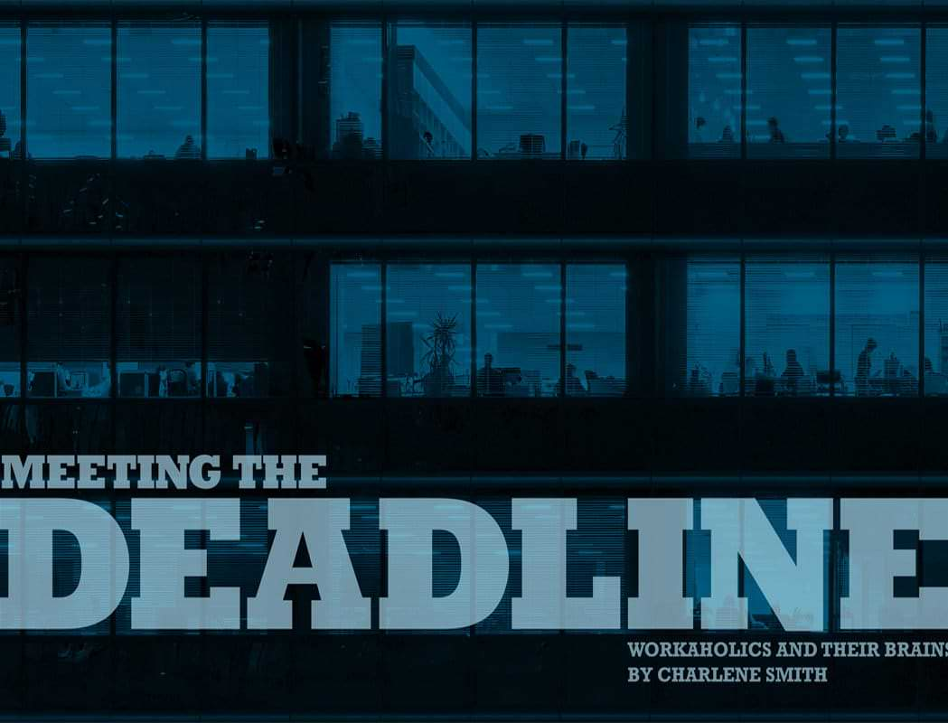 Meeting The Deadline: Workaholics and their Brains